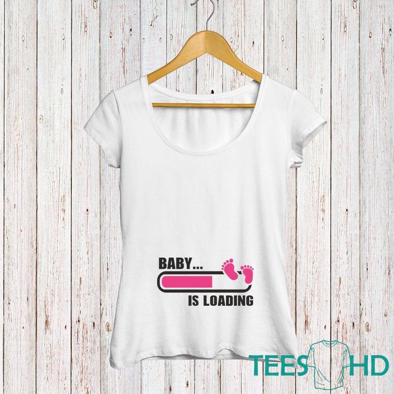 892b4ef40 Baby Loading Shirt, Pregnancy Tshirt, Pregnancy tee, Mom Funny Tee ...