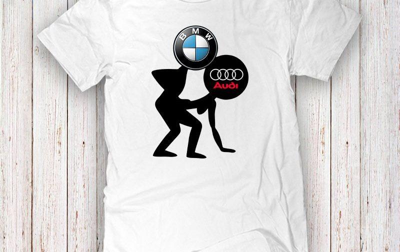Bmw-Funny-Tee-Bmw-Logo-T-Shirt-Bmw-sport-tee-BMW-Logo-BMW-vs-AUDI-Bmw-lovers-gift-Bmw-car-accessory-Bmw-funny-Tshirt-Bmw-Funny-Tee