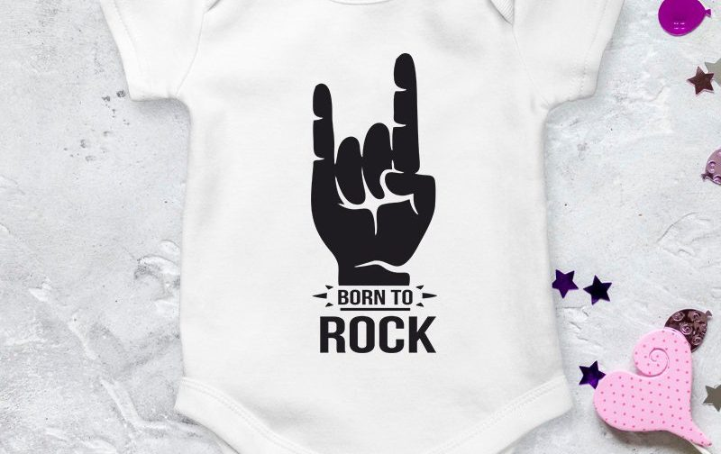 Born-to-Rock-Baby-baby-clothing-Rock-Star-Baby-Baby-Outfit-baby-body-bodysuit-Cool-Baby-Clothes-baby-vest-baby-shirt-Cute-Baby-Grow