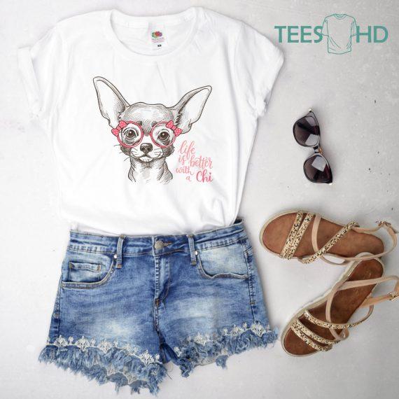 Chihuahua-shirt-Chihuahua-tshirt-Pet-Dog-shirt-dog-love-tee-Chihuahua-Lover-chihuahua-gift-chihuahua-owner-Cute-Dog-Shirt-Chihuahua-3