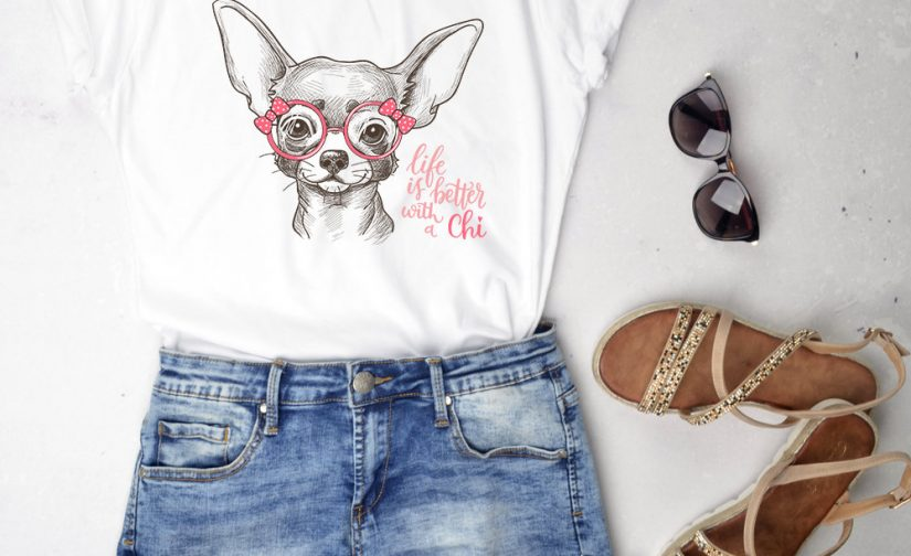 Dog Lover Gift Colorful Chihuahua Tee for Kids and Adults Chihuahua Shirt ToddlerYouthAdult Chihuahua Dog Shirt- Chihuahua Gift