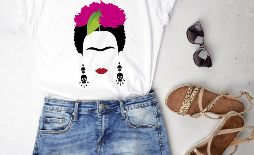 Frida-Kahlo-Boho-tshirt-Frida-tshirt-Girl-Power-Kahlo-Femenist-tee-Frida-Kahlo-shirt-frida-kahlo-clothing-Feminist-Gifts