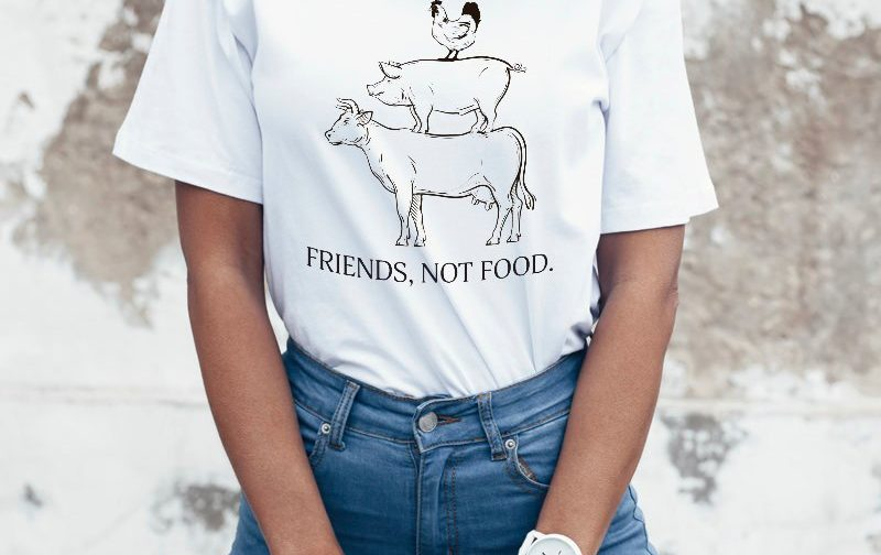 Friends-not-food-shirt-Vegan-tshirt-vegan-Vegetarian-tshirt-Veggie-tshirt-Vegan-shirt-GO-Vegan-shirt-Vegan-shirt-gift-Cute-Vegan