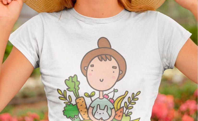 Go-Vegan-tshirt-Go-Vegan-Campaign-T-Shirt-Vegetarian-tshirt-Veggie-tshirt-GO-Vegan-shirt