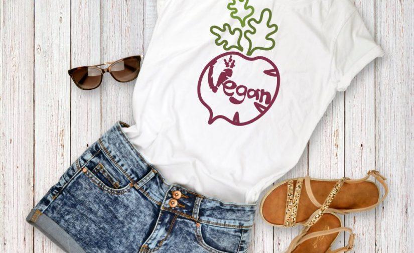 Go-Vegan-turnip-tshirt-Go-Vegan-Campaign-T-Shirt-Vegetarian-tshirt-Veggie-tshirt-GO-Vegan-shirt