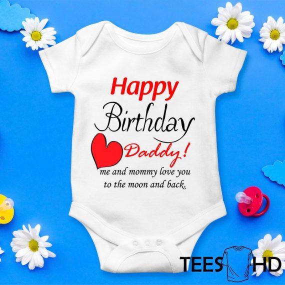 Happy-Birthday-Daddy-baby-bodysuit-Birthday-Present-Baby-Grow-baby-body-Happy-Birthday-baby-vest-baby-shirt-bodysuit-Cute-Baby-Grow-1