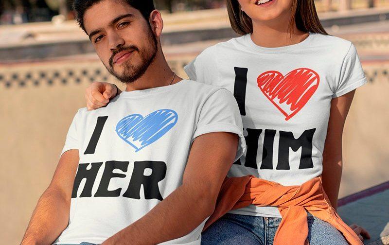 I-Love-HER-and-I-Love-HIM-Couple-Shirts-Love-Couples-Tshirts-Couples-shirts-For-Her-For-Him-shirts-Set-Couples-tshirts-swag-shirt