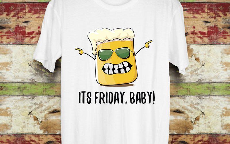 Its-friday-Tshirt-Patricks-Day-Shirt-beer-tshirt-college-drinking-shirt-drinking-Shirt-Funny-adult-tshirt-funny-drinking-Shirt