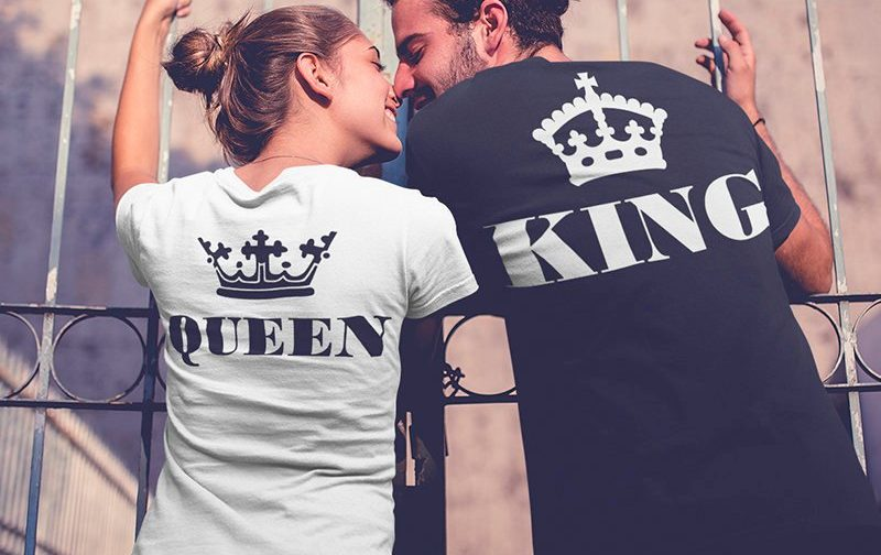 King-and-Queen-Couples-Tshirts-set-Couples-shirts-King-And-Queen-Set-Outfit-for-Couples-LOVE-Matching-Couples