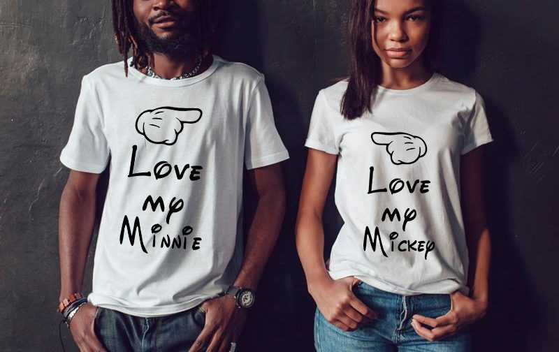 Love-Couples-shirts-Disney-Honeymoon-Wedding-Couple-Tshirts-Couple-gift-funny-couple-shirts-funny-couples-gift-family-look