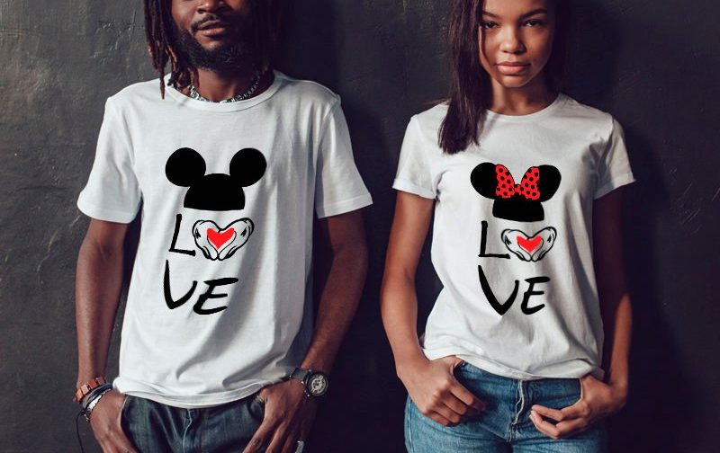 Love-Disney-Couple-gift-funny-couple-shirts-Love-Couples-shirts-Disney-Honeymoon-Wedding-Couple-Tshirts-funny-couples-gift-family-look