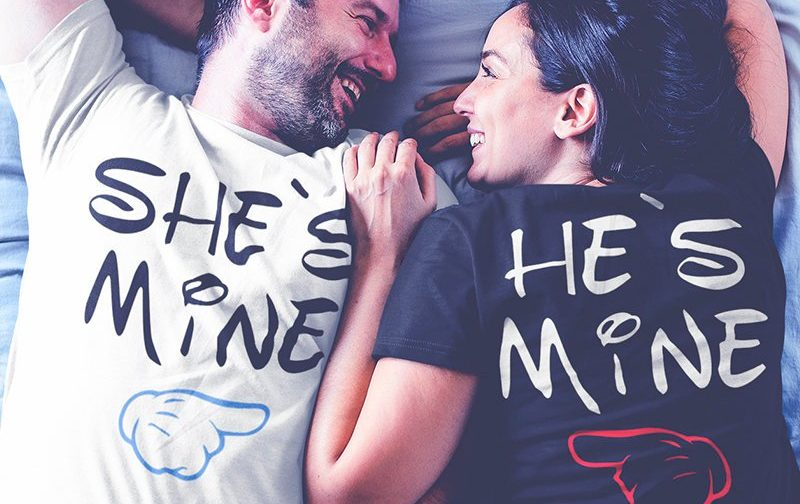 Shes-mine-and-Hes-mine-tshirts-set-Outfit-for-Couples-LOVE-Matching-Couples-Couples-shirts-Wedding-Couple-Tshirts-family-look
