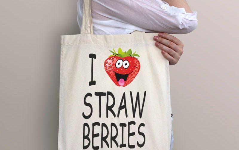 Strawberry-Bag-Boho-Beach-Tote-Bag-strawberry-tote-bag-Vegan-Gift-Vegan-Beach-Food-tote-Bag-Vegan-Market-Bag-strawberry-gift-bag