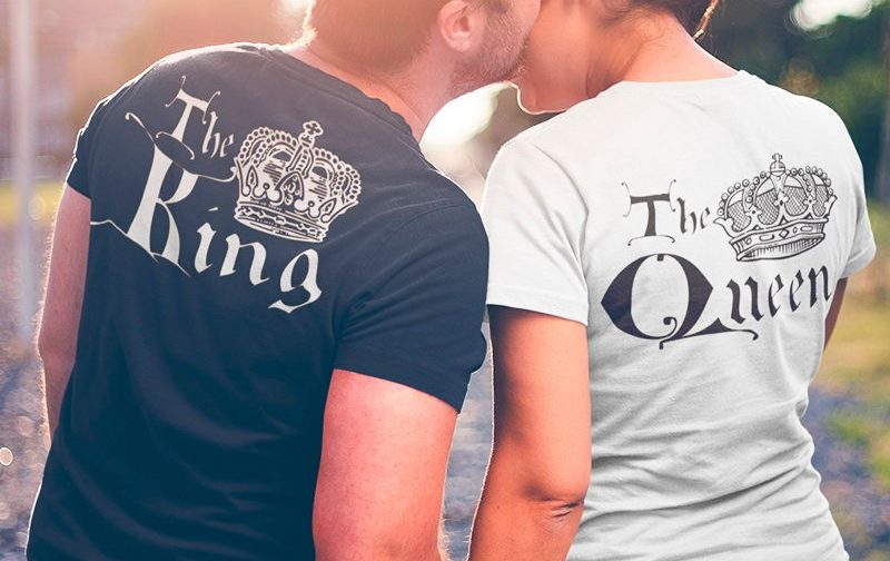 The-King-And-The-Queen-Couple-shrirts-Set-LOVE-Matching-Couples-King-and-Queen-tshirt-set-King-and-Queen-Tshirts-set-Outfit-for-Couples