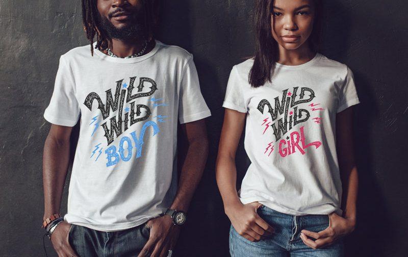 Wedding-Couple-Tshirts-Wild-girl-tee-Wild-boy-tee-Wild-girl-wild-boy-Set-Wild-couple-set-gift-for-couple-Couples-shirts-Couple-gift
