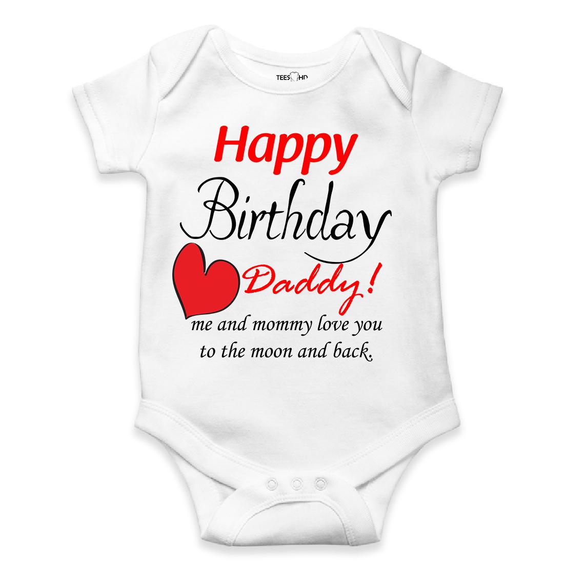 Hy Birthday Daddy Present Teeshd