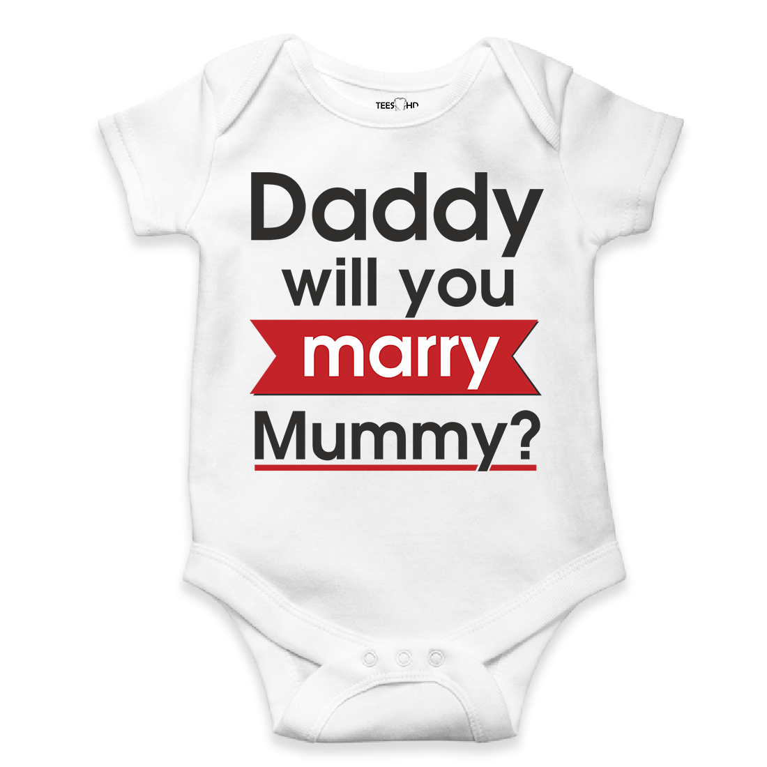 Baby Vests Bodysuits Long Sleeve Funny Printed HAPPY Birthday DADDY I LOVE YOU