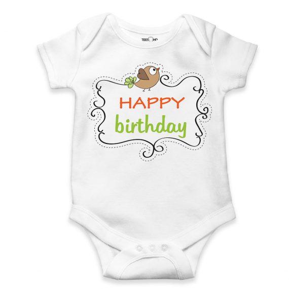 Happy Birthday bodysuit