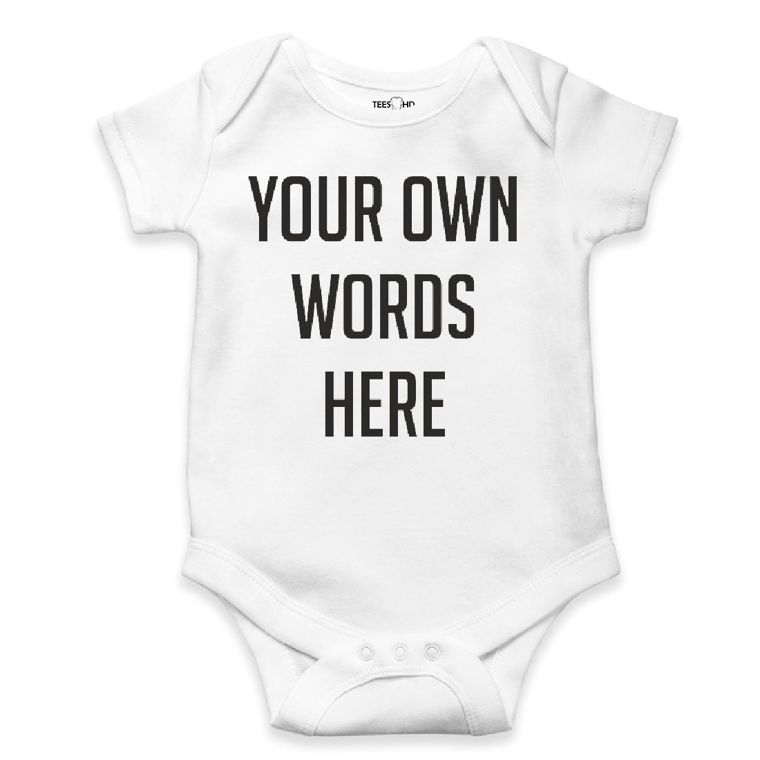 Personalized Bodysuit Custom Baby Vest