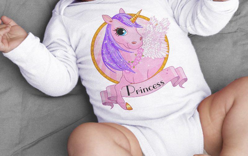 unicorn-bodysuit-baby-clothing-Princess-Unicorn-baby-body-gift-for-baby-bodysuit-New-born-unicorn-baby-vest-gift-baby-shirt