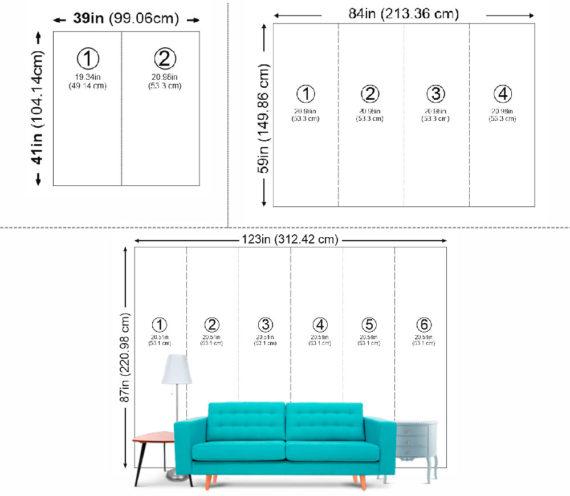photo wallpaper size