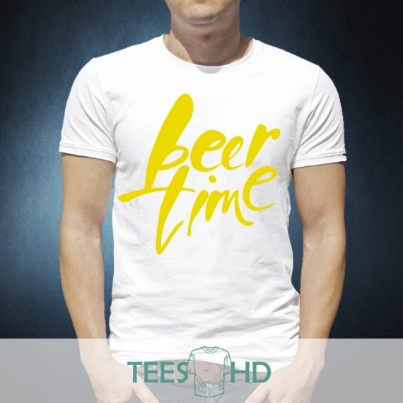 Beer time yellow