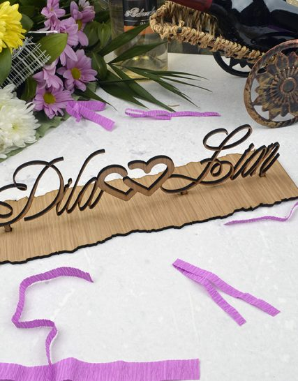 Love Wooden sign for couples