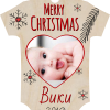 Christmas Baby bodysuit Tree ornaments