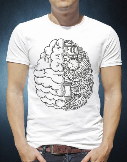 Еngineering brain funny Design