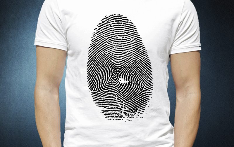 Finger Print t-shirt Design