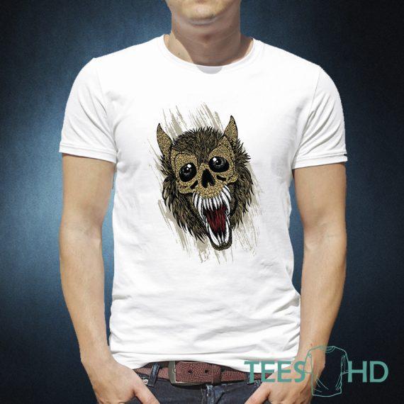 Modern Werewolf t-shirt design