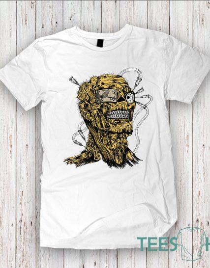Modern t-shirt Zombie design