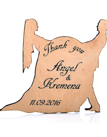 Couple in love Wedding magnet, Decoration