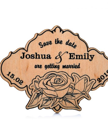 Gentle roses design Wedding magnet, Decoration
