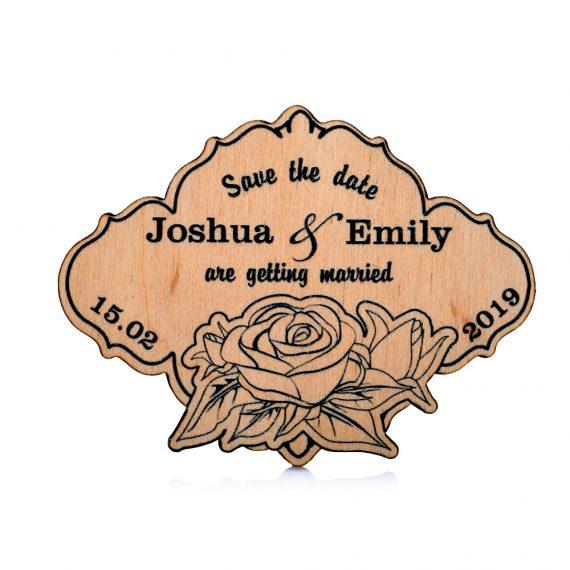 Gentle roses design Wedding magnet, Decoration