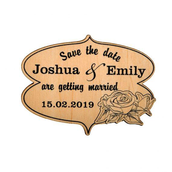 Roses Design Wedding magnet, Decoration