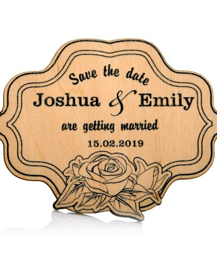 Save the Date Wedding magnet, Decoration