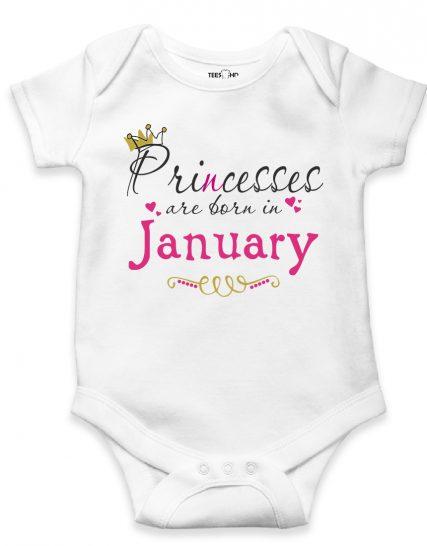 Princess are born in Custom month