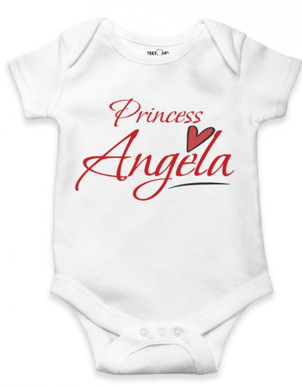 Personalized Bodysuit Princess with Name