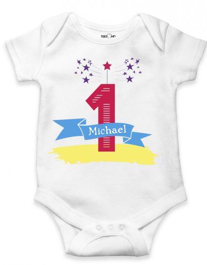 First Baby Birthday bodysuit