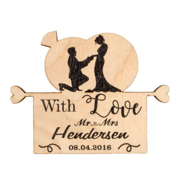 Beautiful Wedding magnet, Decoration