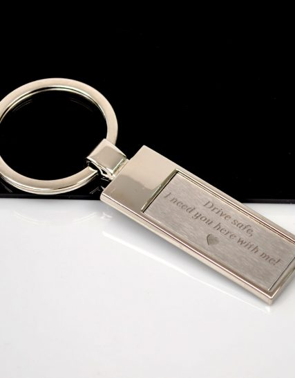 Rectangular shaped Keychain Drive Safe