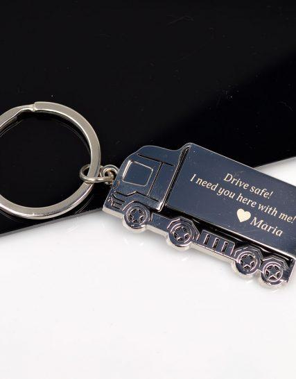 Кeychain Truck Drive Safe